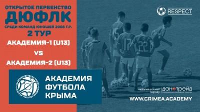 АФК U13-1 – АФК U13-2, 2тур, ДЮФЛК(сезон 2020/2021)