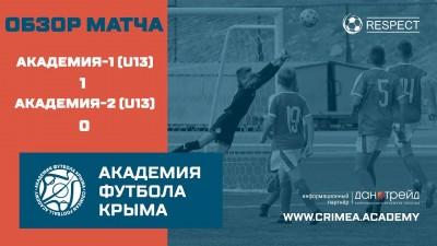 Обзор матча 2-го тура АФК U13-1 – АФК U13-2