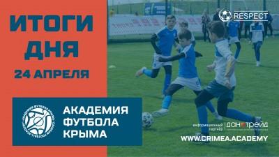 Футбольные итоги 24-25 апреля