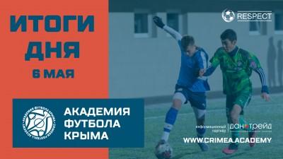 Футбольные итоги ДЮФЛК на6 мая