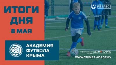 Футбольные итоги ДЮФЛК на8 мая