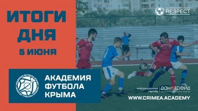 Итоги футбольного дня 5июня