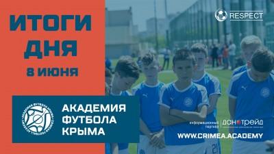 Футбольные итоги дня 8июня вДЮФЛК