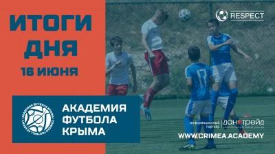 Итоги футбольного дня 16июня