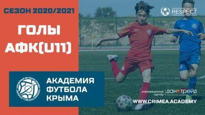 Голы АФК (U11) | Сезон 20/21