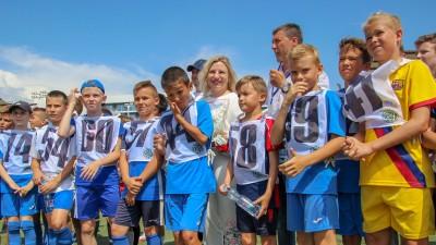 Министр спорта Республики Крым Ольга Торубарова посетила Академию футбола Крыма
